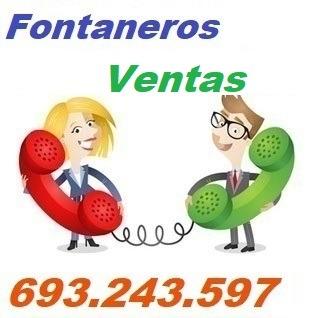Telefono de la empresa fontaneros Ventas